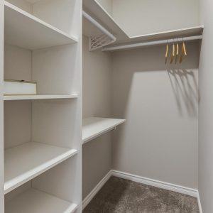 condo with master suite walk-in closet