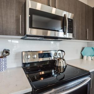 condominium for sale with stainless steel appliances