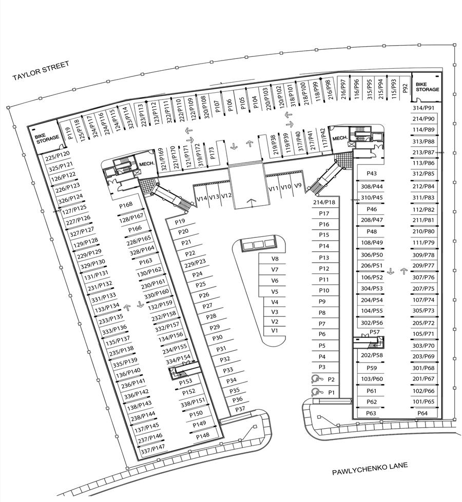 floorplan parking